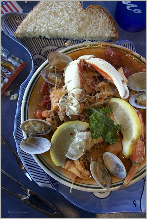 bouillabaisse from mo s restaurant off of cannon beach in