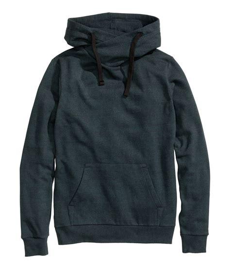 Chimney Neck Sweatshirt - high chimney collar sweatshirt with pocket for buy