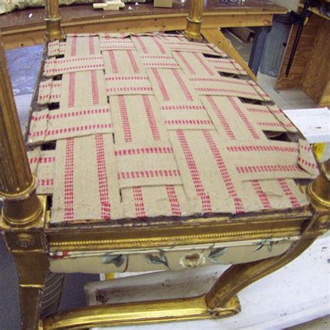 Webbing Sofa upholstery