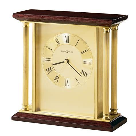 howard miller table clock howard miller carlton brass table clock 645391