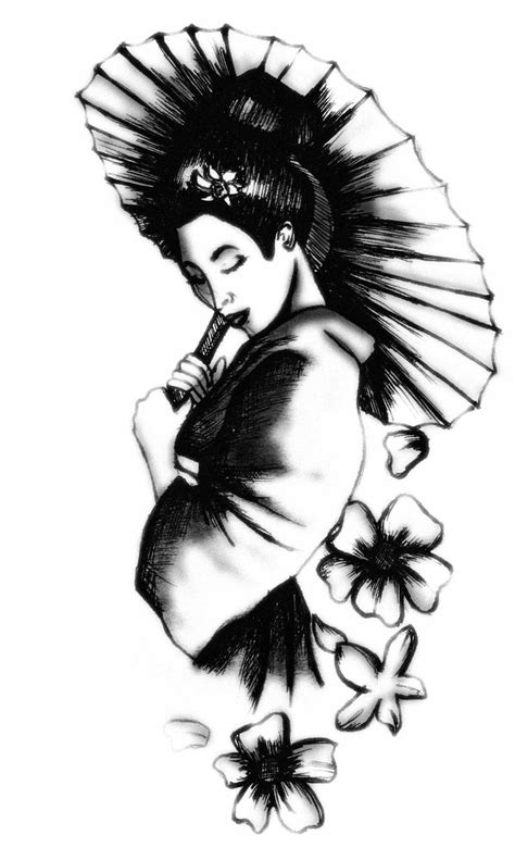 geisha tattoo stencil best 25 geisha tattoo design ideas on pinterest geisha