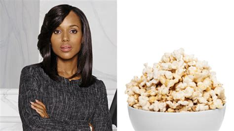 pop corn hairstyle snack like olivia pope instyle com