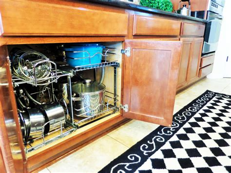 kitchen cabinet organizers for pots and pans kitchen organization ideas pots pans be my guest with