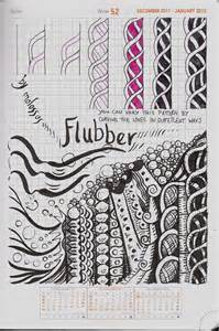 out doodle my tangle pattern flubber zentangle imitates doodles