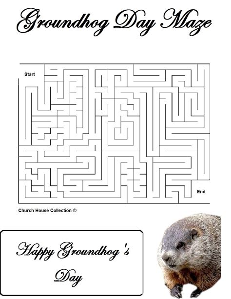 groundhog day lessons groundhog day mazes for school