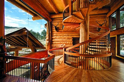 Floor Plan Scale Calculator log home staircases