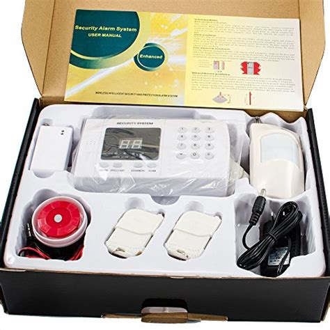 imeshbean 174 pir wireless home security burglar alarm system