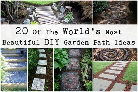 garden pathways ideas garden path comfy project on h3 homemade home ideas homemade projects to make a house a