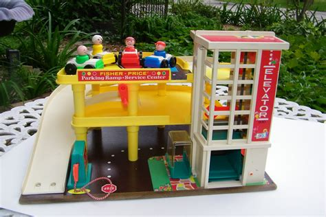 fisher price garage vintage fisher price garage with by