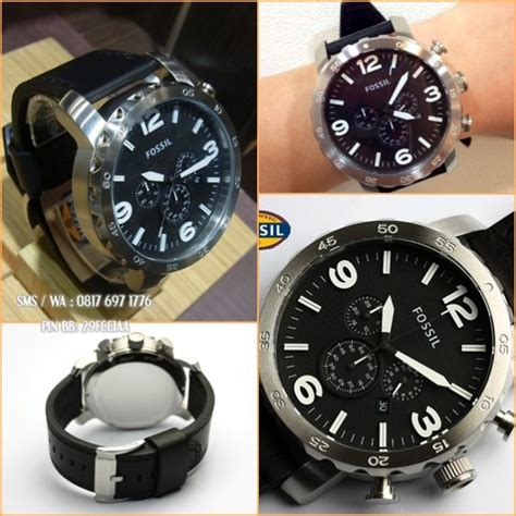 New Tali Kulit 24mm Leather Kualitas Original Stainless promo jam fossil original fossil jr1436 fossil indonesia