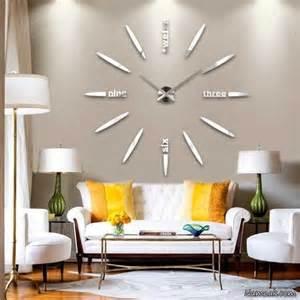 wanduhr wohnzimmer طرح های جدید ساعت دیواری بزرگ