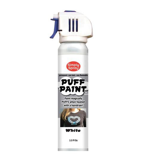 spray paint joanns spray puff fabric paint 2 5oz white jo