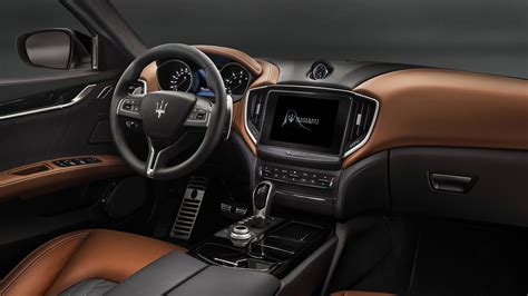2018 Maserati Ghibli Granlusso Interior Wallpaper Hd Car