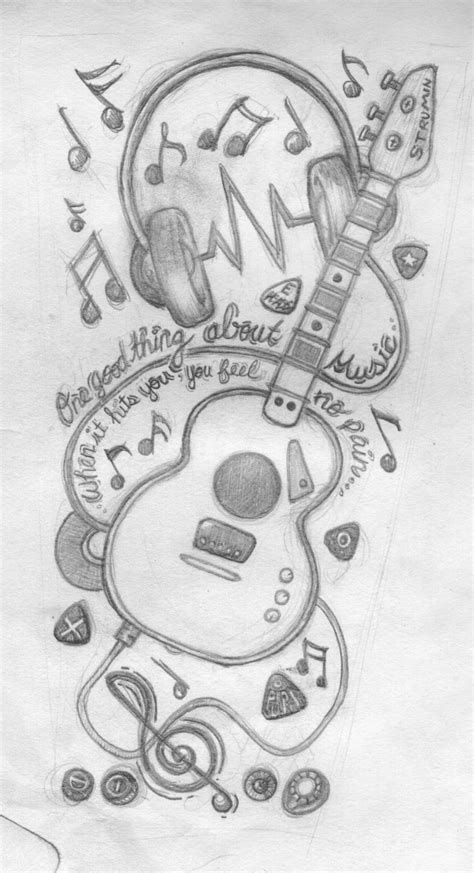 music half sleeve tattoo designs sleeve by tinkat on deviantart