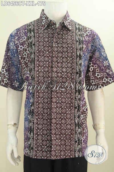 kemeja batik halus berbahan adem proses cap tulis motif jual kemeja batik keren dan halus busana batik modern