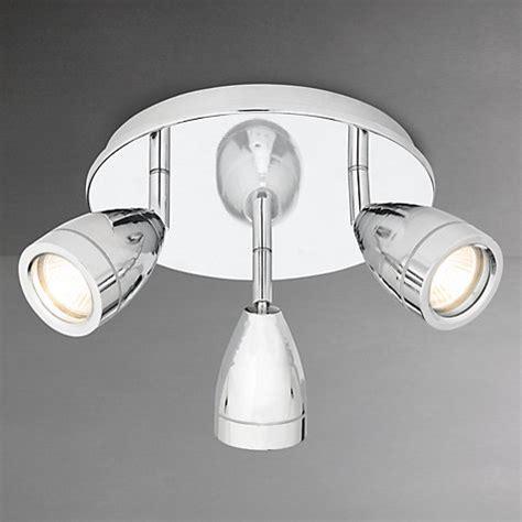 Buy John Lewis Blake Bathroom Spotlight Chrome 3 Light Lewis Bathroom Light
