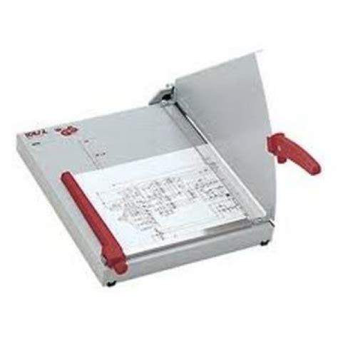 Mesin Potong Kertas Listrik mesin pemotong kertas merk ideal 1134 ukuran folio