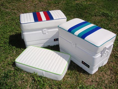 marine boat cushions 54 qt marine ice chest removable cushion bb upholstery