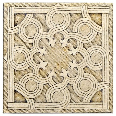 carnelian 10 x 10 floor tiles labyrinth collection mediterranean wall and floor tile