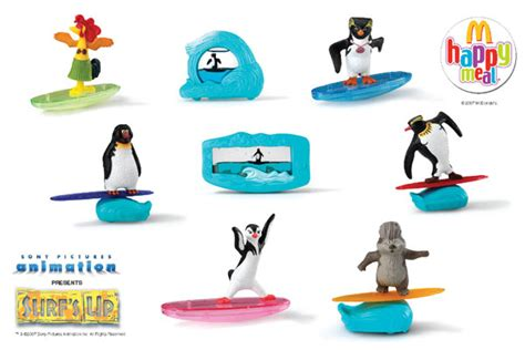 Adventure Time Mcdonald Happy Meal Meals Mcd Mcdonalds Minion surf s up toys at mcdonald s raving maniac the