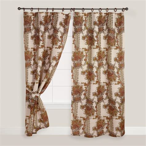 jute curtains online chinois garden jute ring top curtain world market