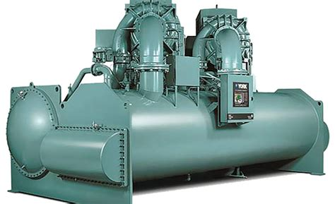 dual compressor centrifugal chiller  variable speed drive    process cooling