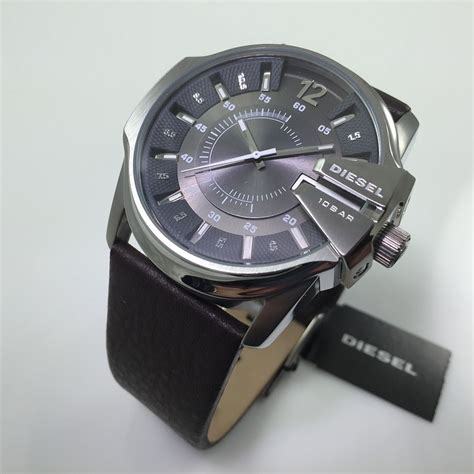 Swiss Army 1206 Brown s diesel grey brown leather dz1206