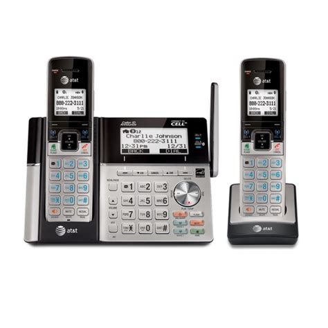At T Home Phones by Bluetooth Connect To Cell Cordless Phones At T