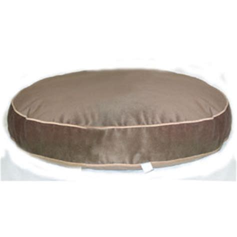round dog beds round dog bed mushroom with cashew