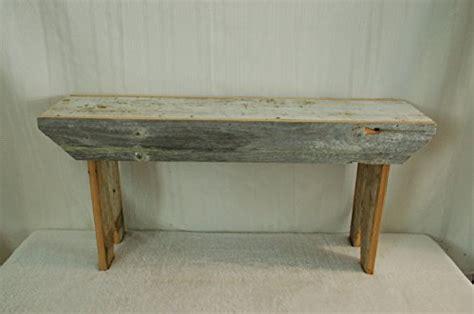 3 foot bench outdoor amish wares barn wood bench 3 foot color may vary