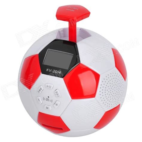 Mp3 Player Football Pack kv 2014 1 5 quot lcd portable football shape mp3 player