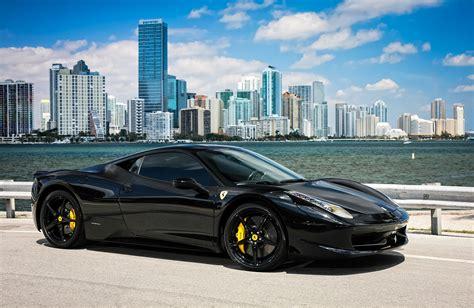Ferrari Schwarz by Ferrari 458 Black