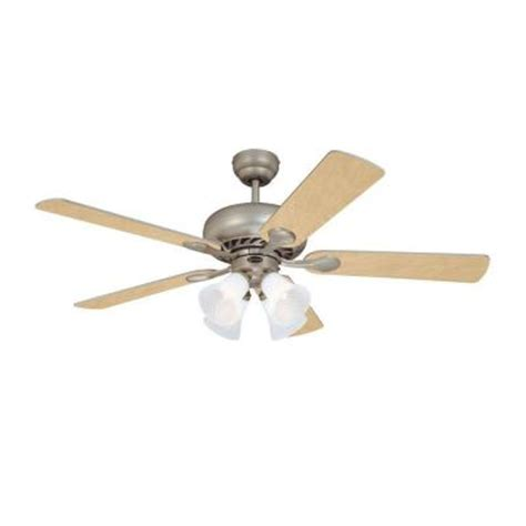 home depot 52 inch ceiling fans westinghouse swirl 52 in brushed pewter indoor ceiling