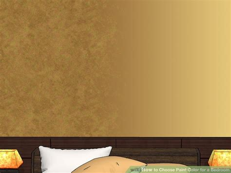 choosing paint colors for bedroom how to choose paint color for a bedroom 15 steps with