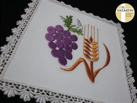 imagenes caliz uvas espigas palias bordadas 171 el nazareno el nazareno
