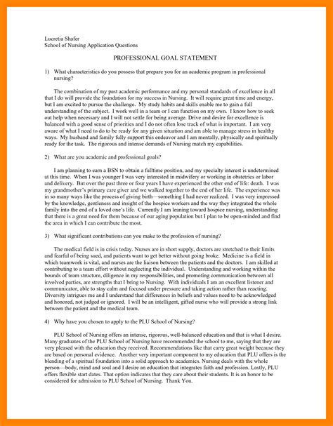 Scholarship Essay Exles Personal Goals professional goal statement exles amitdhull 28 images