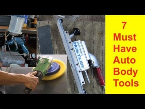 tutorial video repair tool 7 must have auto body tools to get started in auto body