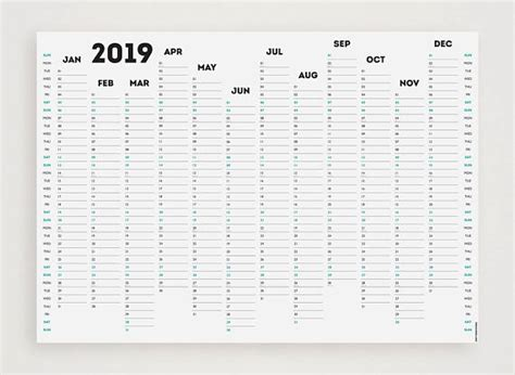 free printable a3 2015 wall planner white out 2019 wall planner