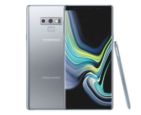 update official samsung galaxy note 9 in silver leaked coming to the us