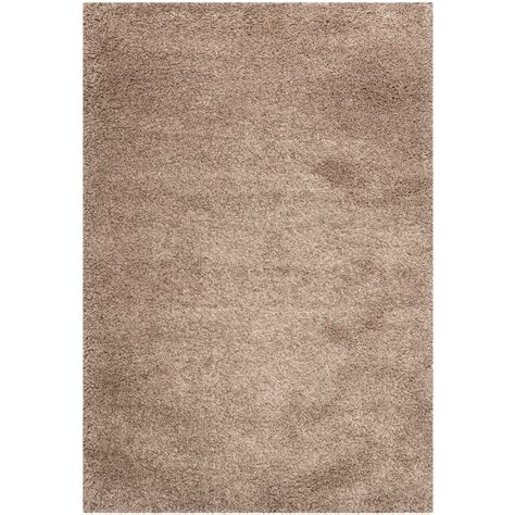 safavieh california rug safavieh california shag taupe 9 ft 6 in x 13 ft area rug sg151 2424 10 the home depot