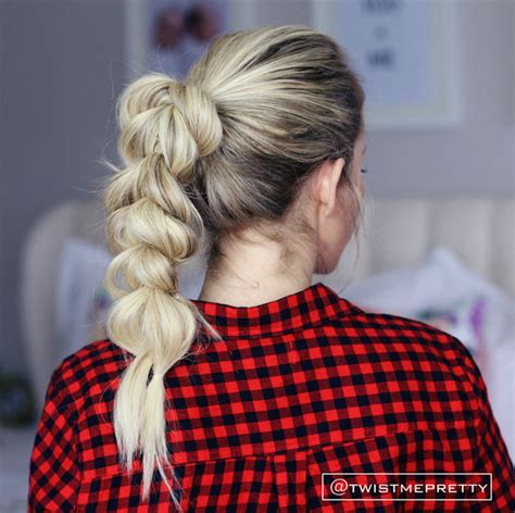 cute hairstyles you can sleep in pull through braid easy back to school hairstyles to let