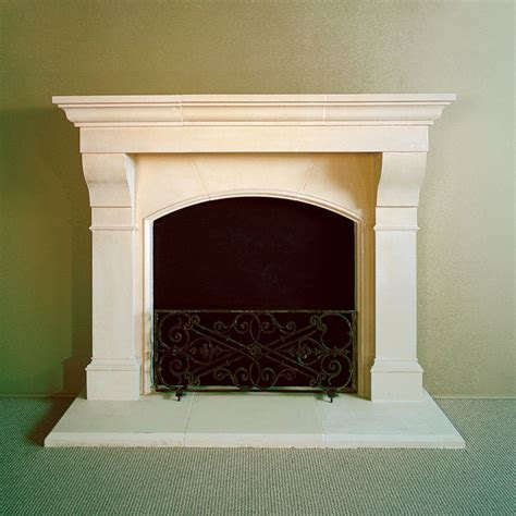 Cast Fireplace Mantels by Amhurst Cast Fireplace Mantel Traditional Indoor