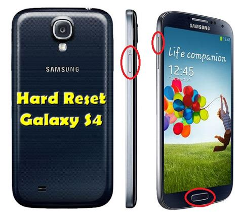 reset on samsung galaxy s4 hard reset samsung galaxy s4 geeknews it