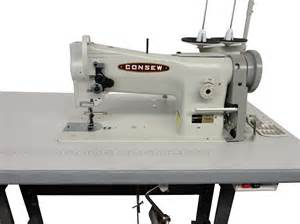 Upholstery Needles And Thread Walking Foot Sewing Machine Consew 206rb 5 Complete