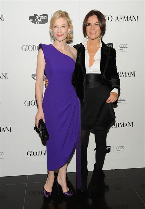Giorgio Armani And Cate Blanchett Attend Armani Ginza Towers Light Up Ceremony by Cate Blanchett Photos Photos Giorgio Armani Celebrates