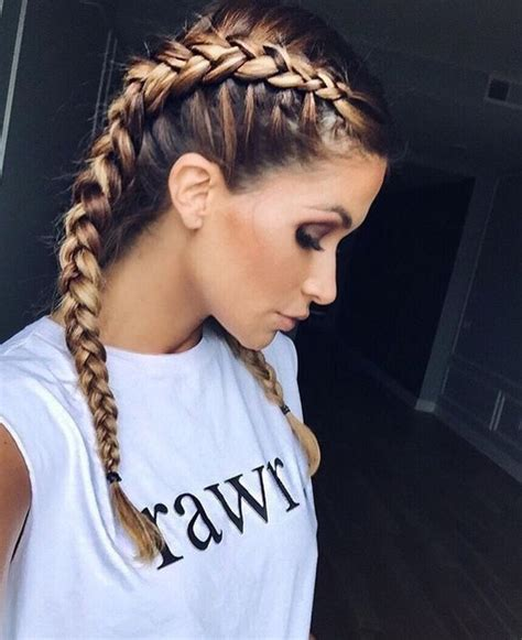 hairstyles two braids best 25 two french braids ideas on pinterest