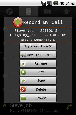 android record call grabar llamadas android