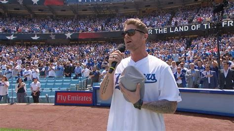 sdatlad brett young performs  national anthem youtube