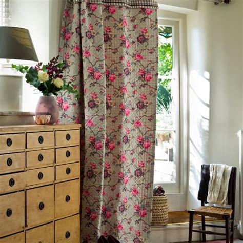 Hallway Curtain floral hallway curtain country hallway idea housetohome co uk