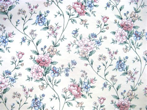 wallpaper flower vintage pinterest vintage flower wallpaper blue google search cute